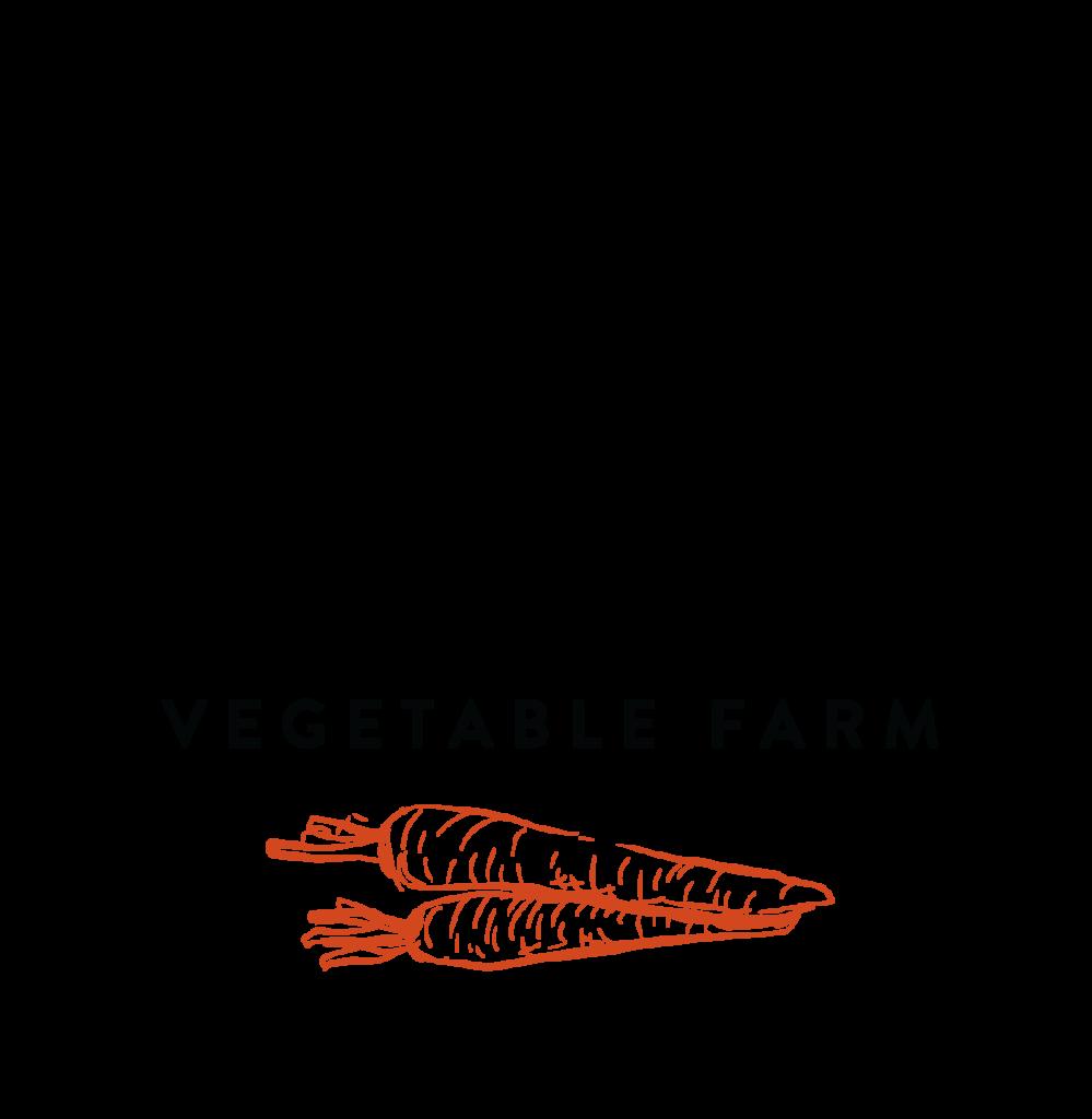 2BK Vegetable Farm Logo - Kyle Loranger Design - Edmonton